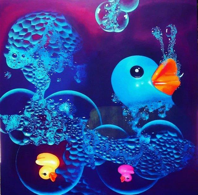 As Long As You Play Me  by Syah Fadil      #ducksofart #rubberduck #artists #artwork #artstudent #worldofartists #artworld #artistic #arts #artfun #colorfulart #artlovers #supportthearts #art_spotlight #art_we_inspire #art_dailydose #artist_sharing #canvas #friday<br>http://pic.twitter.com/e9VPgCVWgA