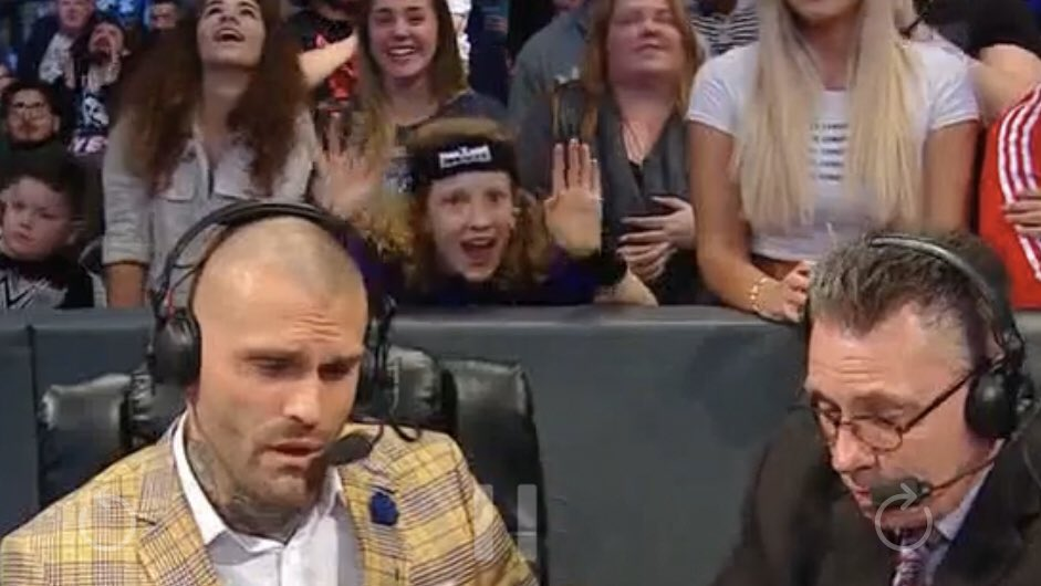 Glad WwE gave #MarkoStunt great seats to #SmackDownOnFox @MeltzerSaidWhat
