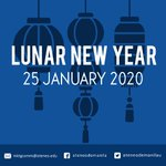 Image for the Tweet beginning: Happy Lunar New Year! May