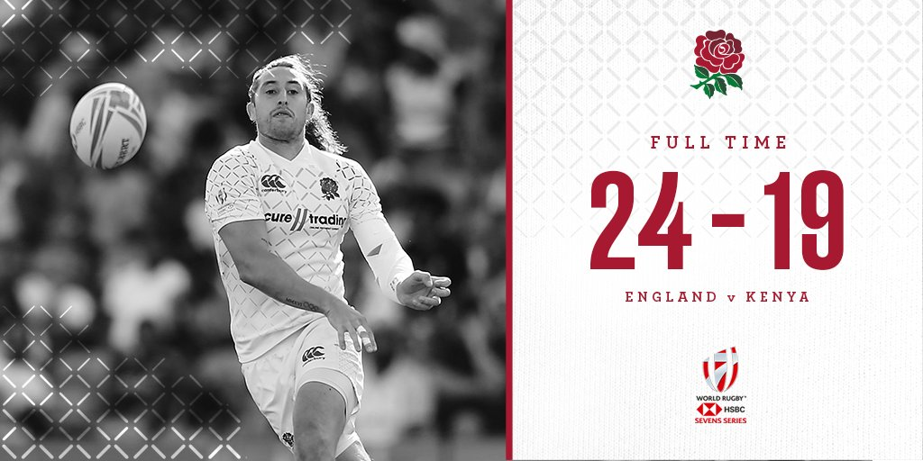 test Twitter Media - England men kick off #NZSevens with a win over Kenya 🌹  They will now South Africa at 05:30 GMT and Japan at 22:51 GMT on Saturday 🏉  Watch live on @SkySports Action 📺 https://t.co/uuvxT26boe