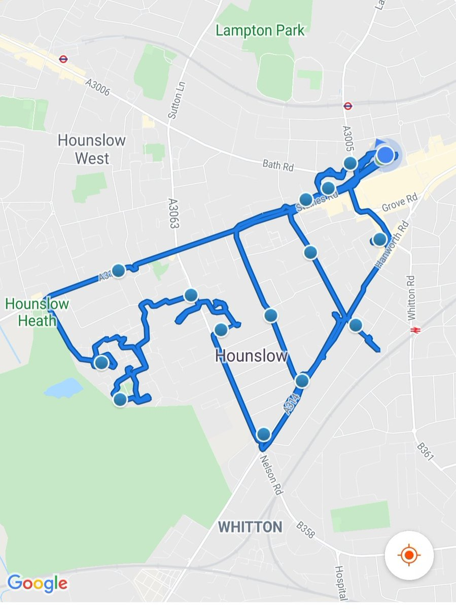 Hounslow Heath SNT officers were busy yesterday patrolling  various parts of the ward, carrying out Anti social behaviour  & drug use patrols visiting victims of motor vehicle & Pedal cycle crime.    #BeSafe #DontDoDrugs #MOTORVEHICLECRIME #PedalCycleCrimepic.twitter.com/PTdyFRfVW5