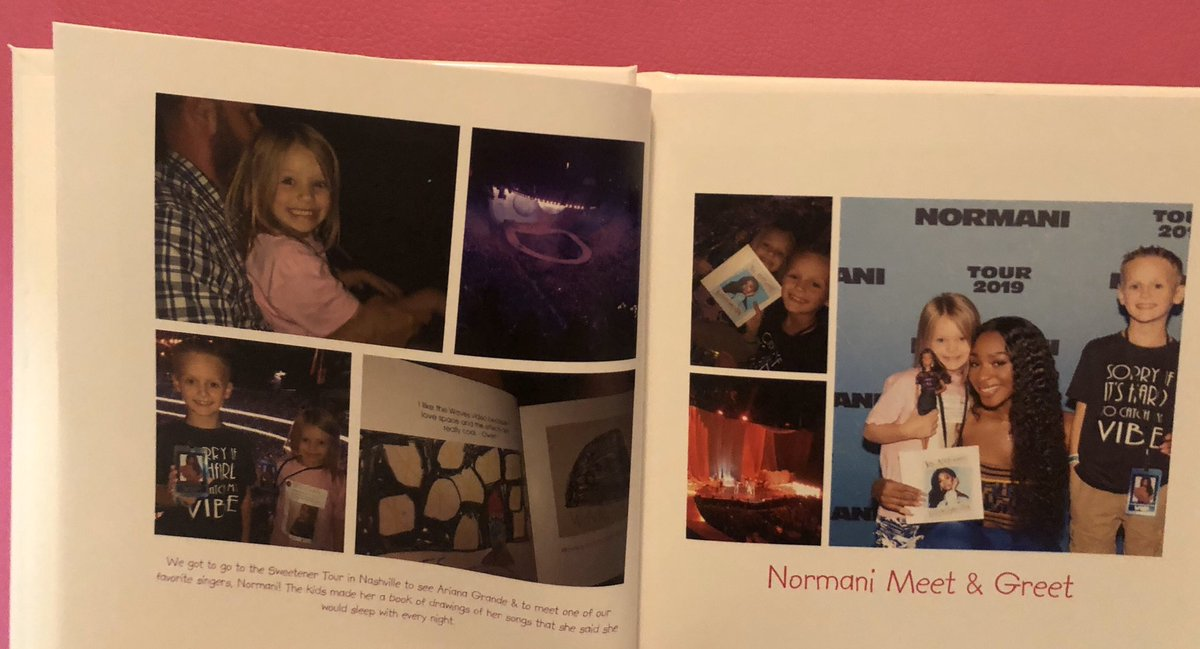 #SweetenerWorldTour memories with @Normani in the kids' summer photo book  We can't wait to see Normani in concert again!<br>http://pic.twitter.com/SX66ZPeq5i