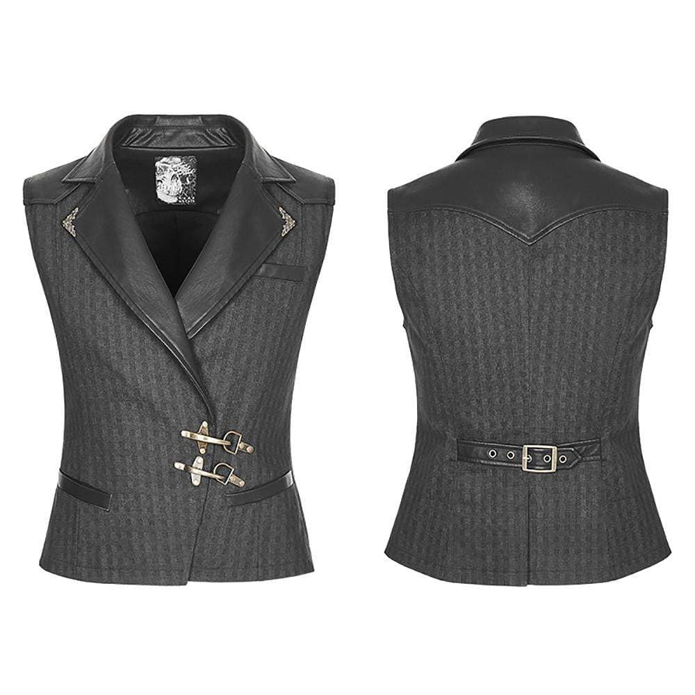 Product of the day: Punk Rave Steampunk Leather Collar Vest  Available in the store! Link in bio  #vampirefreaks #alternativefashion #alternative #goth #gothic #scene #emo #alternativemusic #alternativemodel #punk #gothgirl #gothguy #vampirefreaksstore #steampunk #victoriangoth pic.twitter.com/hhjQBO8Iel
