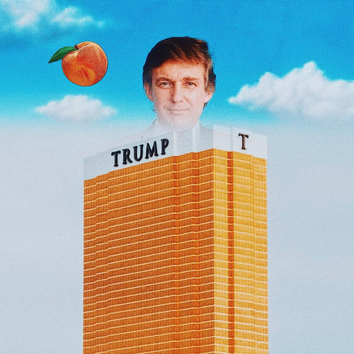 Peachy Clean  Donald Trump http://www.si.edu Trump Tower NV @neonbrand Peach  unknown  Digital Collage @cutfinga #cutfinga #collageclub #collagewave #trump #trumptower #peach #impeachment #collagecollective #collagecollectiveco pic.twitter.com/zFcXEcL4wL