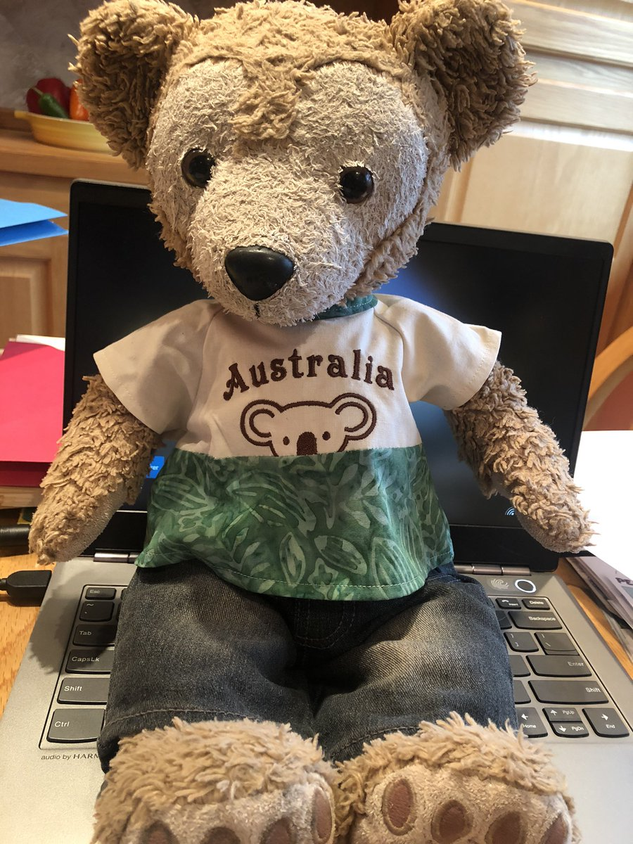 Replying to @Duffy_theBear: I love my new shirt from @CraftyShellie!!