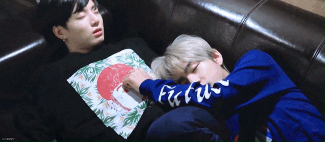 an army asked on weverse: jungkook, right now what are you doing right now💜  tae replied: he's sleeping beside me  YALL JUNGKOOK IS SLEEPING BESIDE TAEHYUNG IM WIDE AWAKE NOW #taekook #kookv