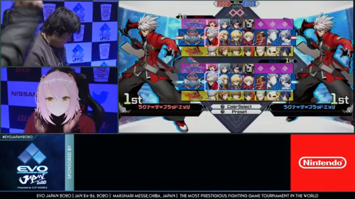 Virtual Youtuber commentated BBTAG pools yesterday and is now playing a qualifying match for Top 8. 2020 is wild. <br>http://pic.twitter.com/FBhVJoGpq4