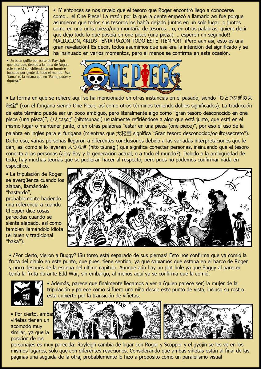 Secretos & Curiosidades - One Piece Manga 968 EPFwCqLWkAId4m2