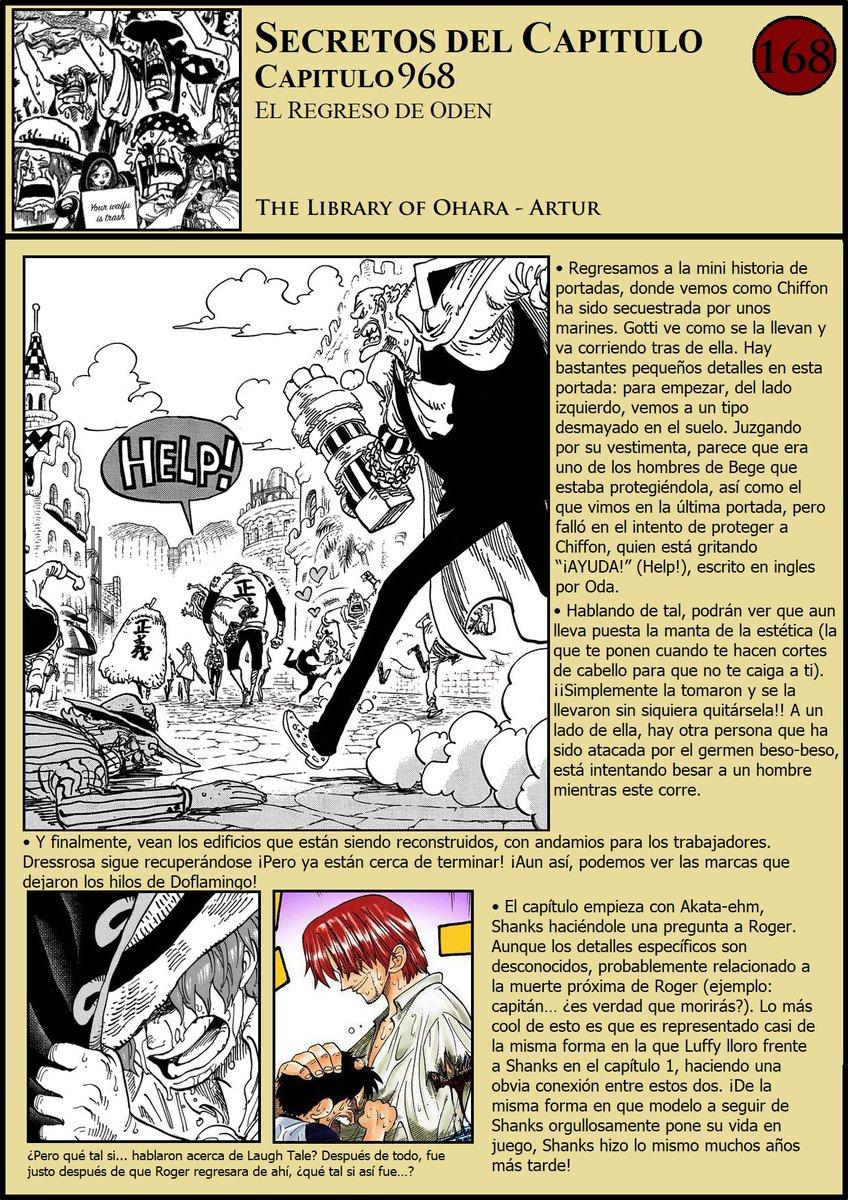 Secretos & Curiosidades - One Piece Manga 968 EPFwCqRX4AAxDbM