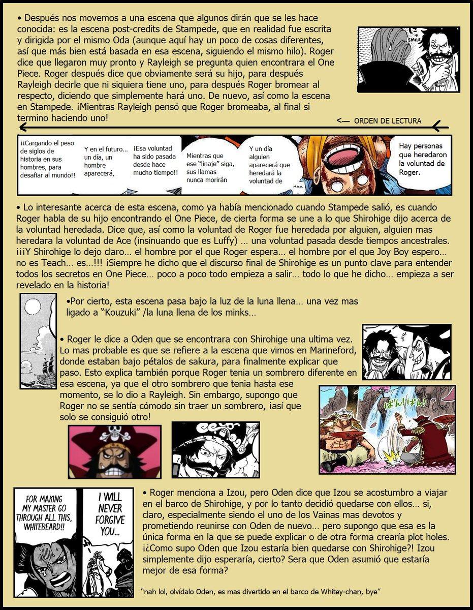 Secretos & Curiosidades - One Piece Manga 968 EPFwTHxW4AEJqY9
