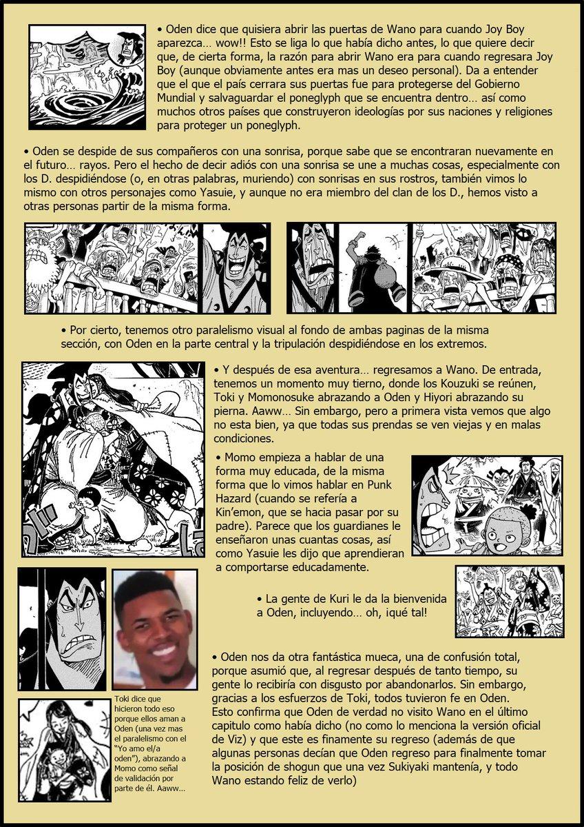 Secretos & Curiosidades - One Piece Manga 968 EPFwe7nXUAAodiz