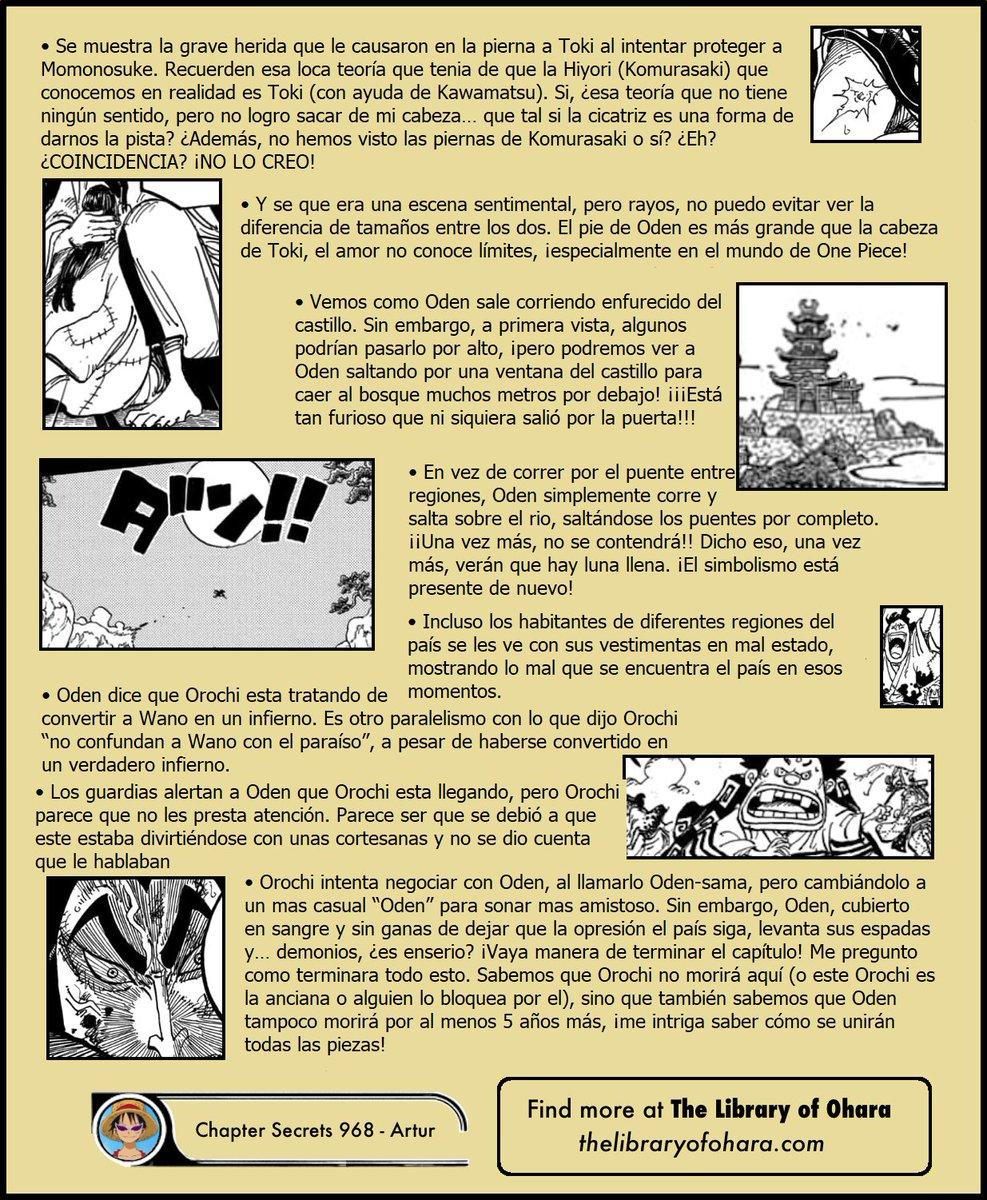 Secretos & Curiosidades - One Piece Manga 968 EPFwe8DWAAUAkHV