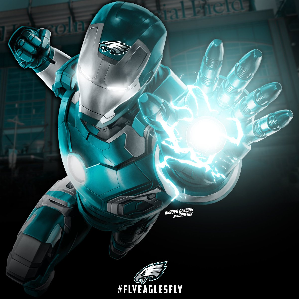 Did someone say #NFCEast? Sure did! Tweeted the NFC/AFC Qest yesterday, now its the Easts turn! #NFL100 #ProBowl2020 #IronMan #Marvel #GraphicDesign