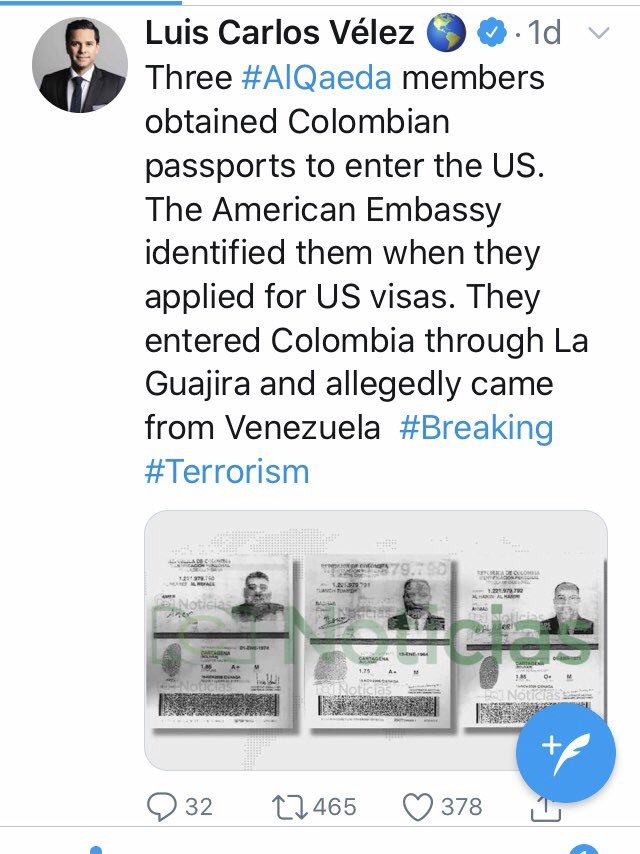 PSA: this reporter from CNN español has apparently not gotten the memo that CNN español debunked this rumor (now going viral in right wing media) that he tweeted <br>http://pic.twitter.com/eP1XCvQXTy