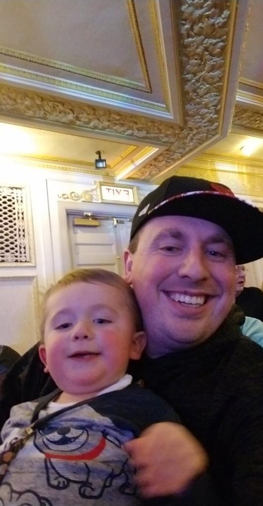 #nickjrlive Camden and dad. https://t.co/m72ebQjB26