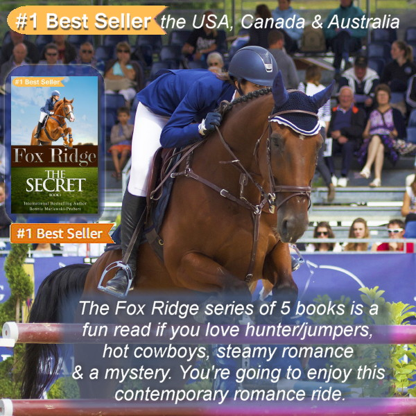 #Order Fox Ridge, The Secret. Book 1 of the #ContemporaryRomance #BestSeller today on amazon for only #99c. If you #love #horses, #Romance & #Cowboys, #order all 5 books in the series today. @goodreads #RomanceReaders #Reading #horseshow #RomanceReaders amazon.com/gp/product/B07…
