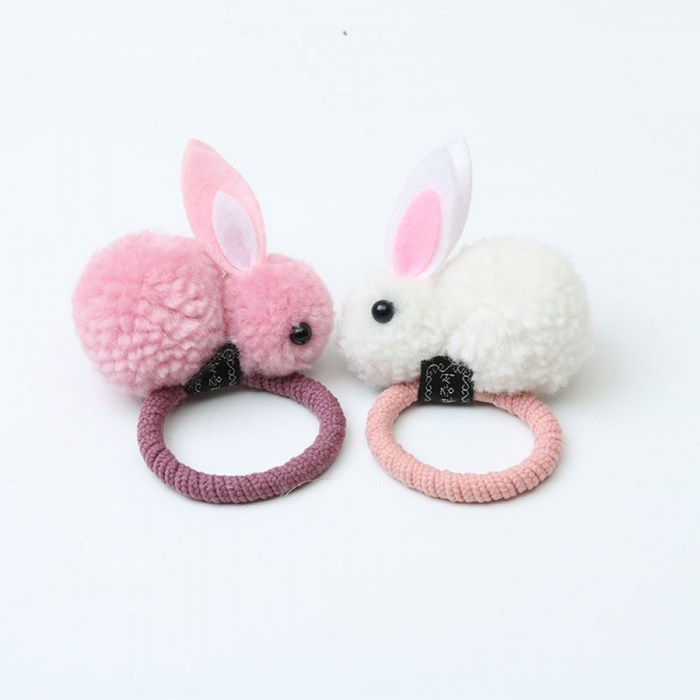 #girls #hair Cute Rabbit Hair Tie