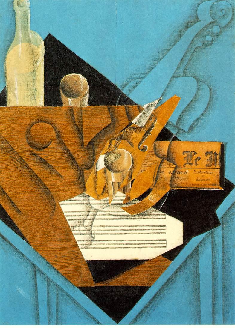 Musician's table, 1914 #juangris #syntheticcubism<br>http://pic.twitter.com/Nj6kHbbvGP
