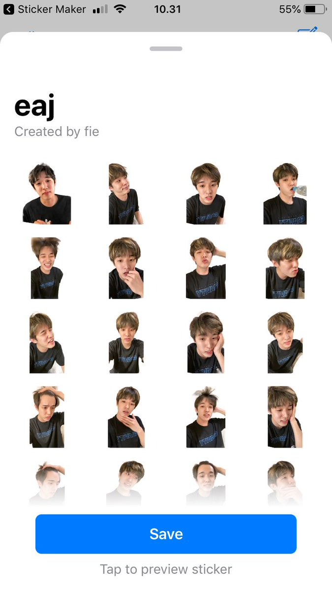 LOOK~!! WHAT I DID TO MY WHATSAPP STICKERS ㅋㅋㅋㅋ @Jae_Day6 <br>http://pic.twitter.com/0CcxyYZoWU