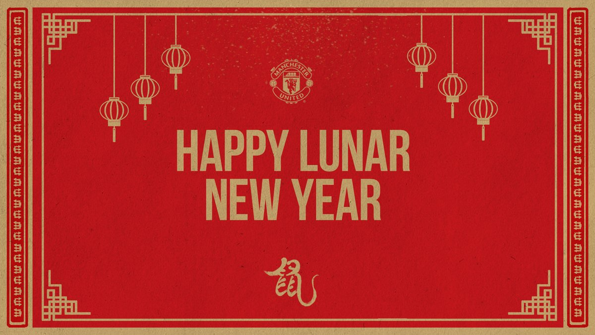 🧧 Selamat Hari Raya Imlek untuk semua fans #MUFC yang merayakan! 🥳😍   #LunarNewYear