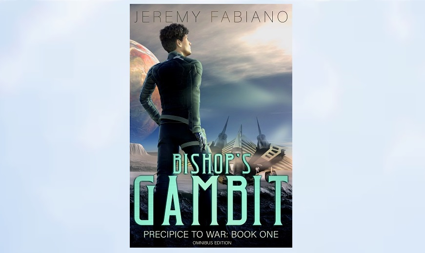 Bishop's Gambit Omnibus - A Space Opera Novel.  Come see how Bishop deals with cranky aliens, political warfare, betrayal, and a genius AI with a superiority complex.  http://readerlinks.com/l/535145/t-bo  #NewRelease #SpaceOpera #Adventure #Omnibus #readingcommunity #readers @jeremyfabiano
