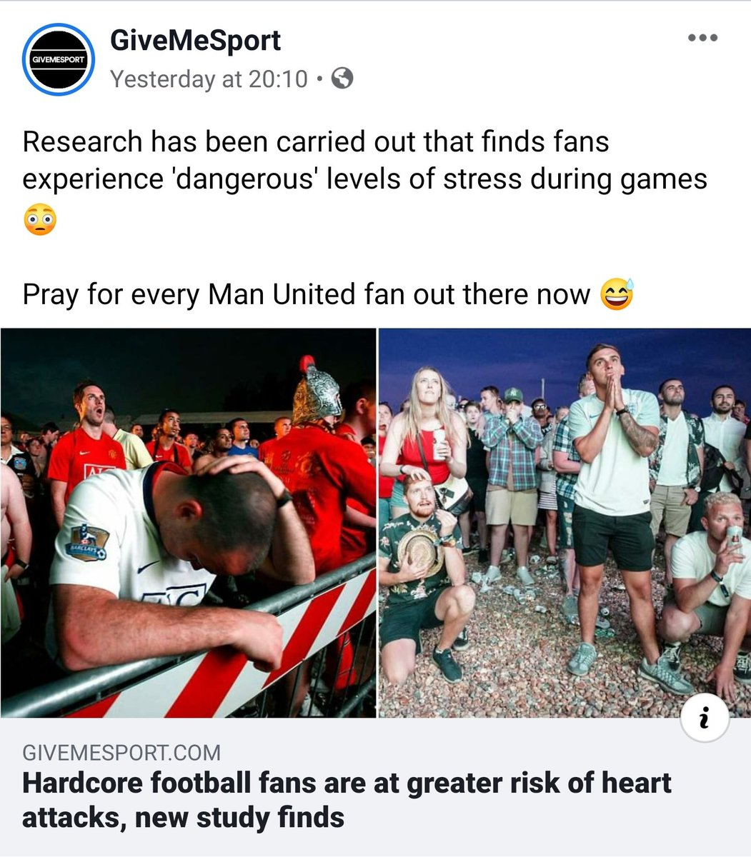 Lol stay safe brothers and sisters. #mufc