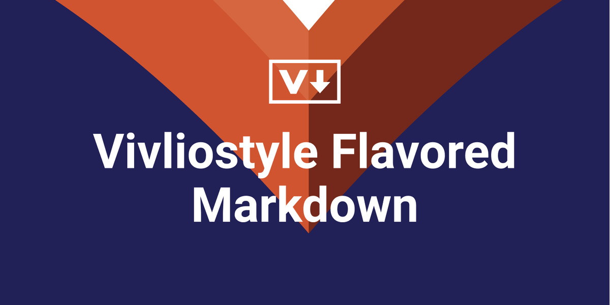 Vivliostyle Flavored Markdown やっていきます💪