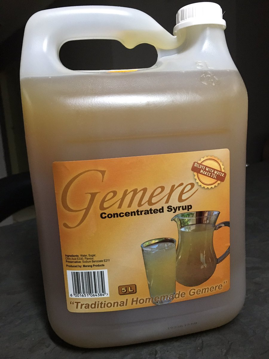 We manufacture Concentrated Gemere in Naledi Soweto. 5 Litre makes 25 Litres. Original Homemade. Easy business,DM for prices #DJSBU<br>http://pic.twitter.com/EpY50drF0N