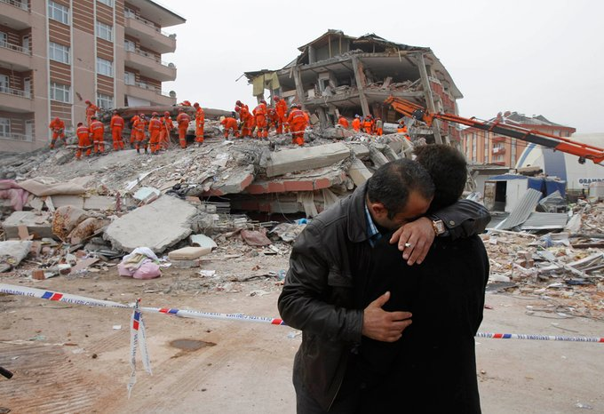 Earthquake Striked Eastern Turkey, Killed 18, several are injured.