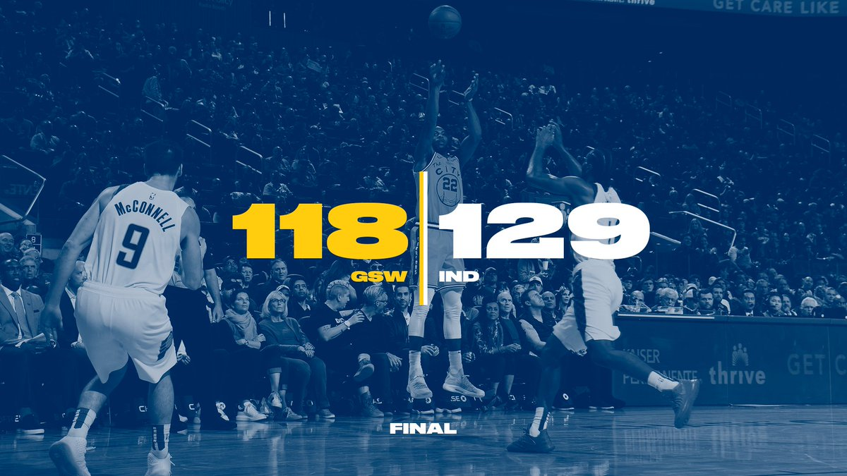 Final from #WarriorsGround  全场结束