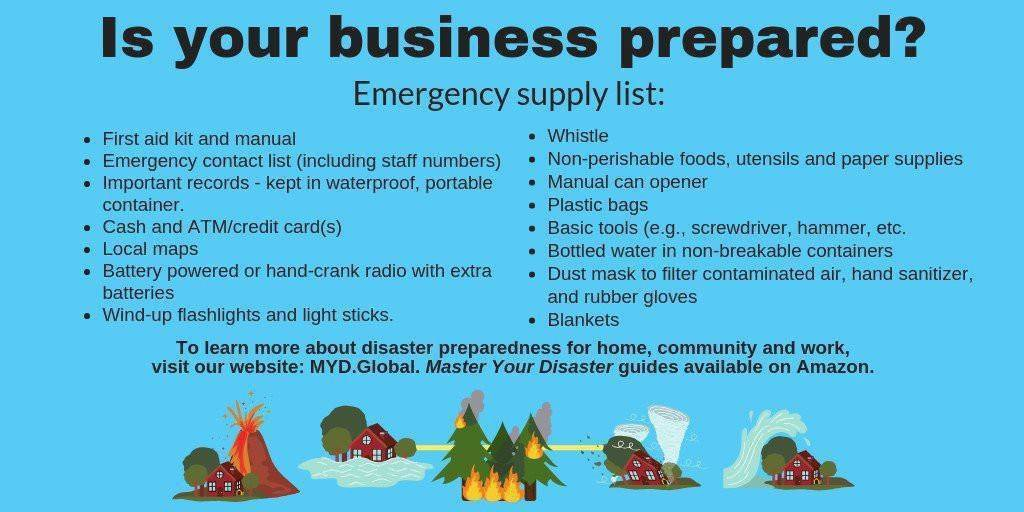 Business owners - will you be prepared to help your employees in case of disaster?  Download and customize your own Business Continuity Template today:  http://bit.ly/2S9XL0Y   #continuity #mitigation #prepare #disasterprep #disaster #snow #poweroutage #ice #belowfreezing