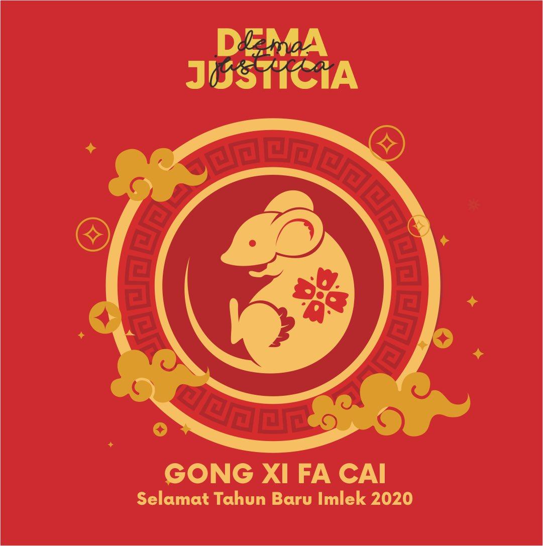 Dewan Mahasiswa Justicia Fh Ugm على تويتر Tahun Baru Imlek 2020 Keluarga Besar Dema Justicia Mengucapkan Selamat Tahun Baru Imlek 2020 Semoga Kedamaian Kesejahteraan Dan Nasib Baik Di Tahun Tikus Logam Ini