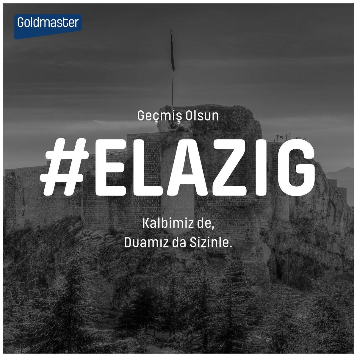 Geçmiş olsun #Elazig . Kalbimiz de, dualarımız da sizinle. #elaziğ #elazığ #deprem https://t.co/VVSVBW0GFh