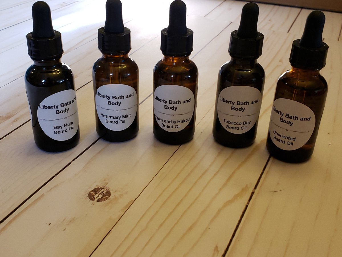 Beard Oil Made With Skin Loving Oil Available In Bay Rum, Rosemary Mint, Shave and a Haircut, Tobacco Bay and Unscented For Men http://tuppu.net/55dba734 #LibertyBathAndBody #facialcare #skincare #coldprocesssoap #allnatural #Etsy #BeardGrooming pic.twitter.com/y4behPTQOy