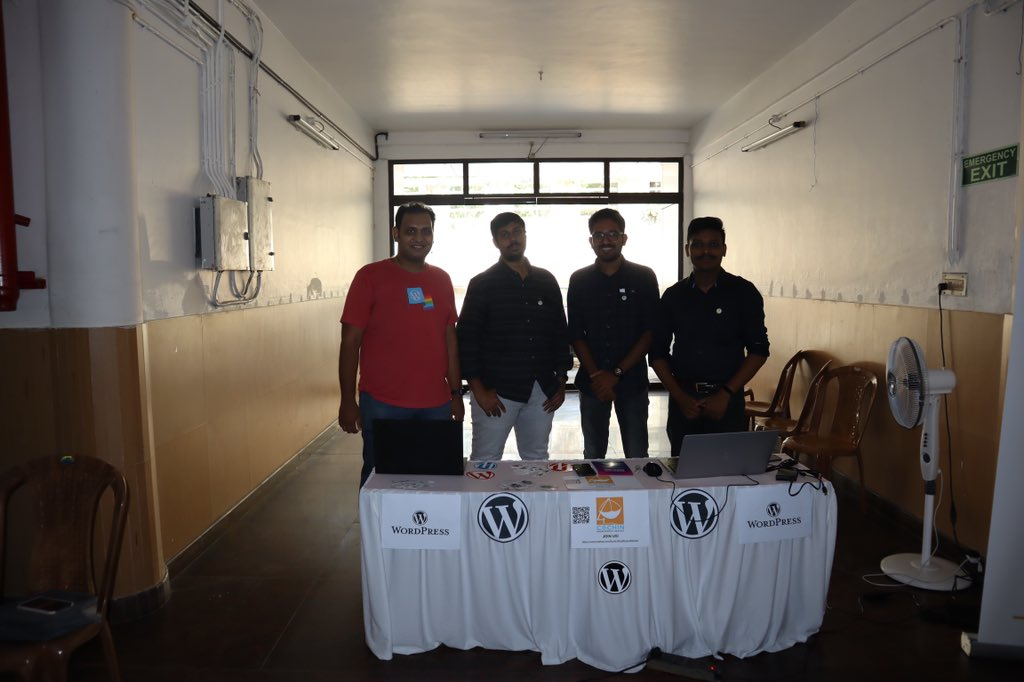 If you're at #InnovatorsSummit come say Hi to us at the #WPKochi stall! Amazing #WordPress #swag awaits you! Get yours now, before we run out! #Dhishna @dhishna__cusat #WPKochi #WCKochi