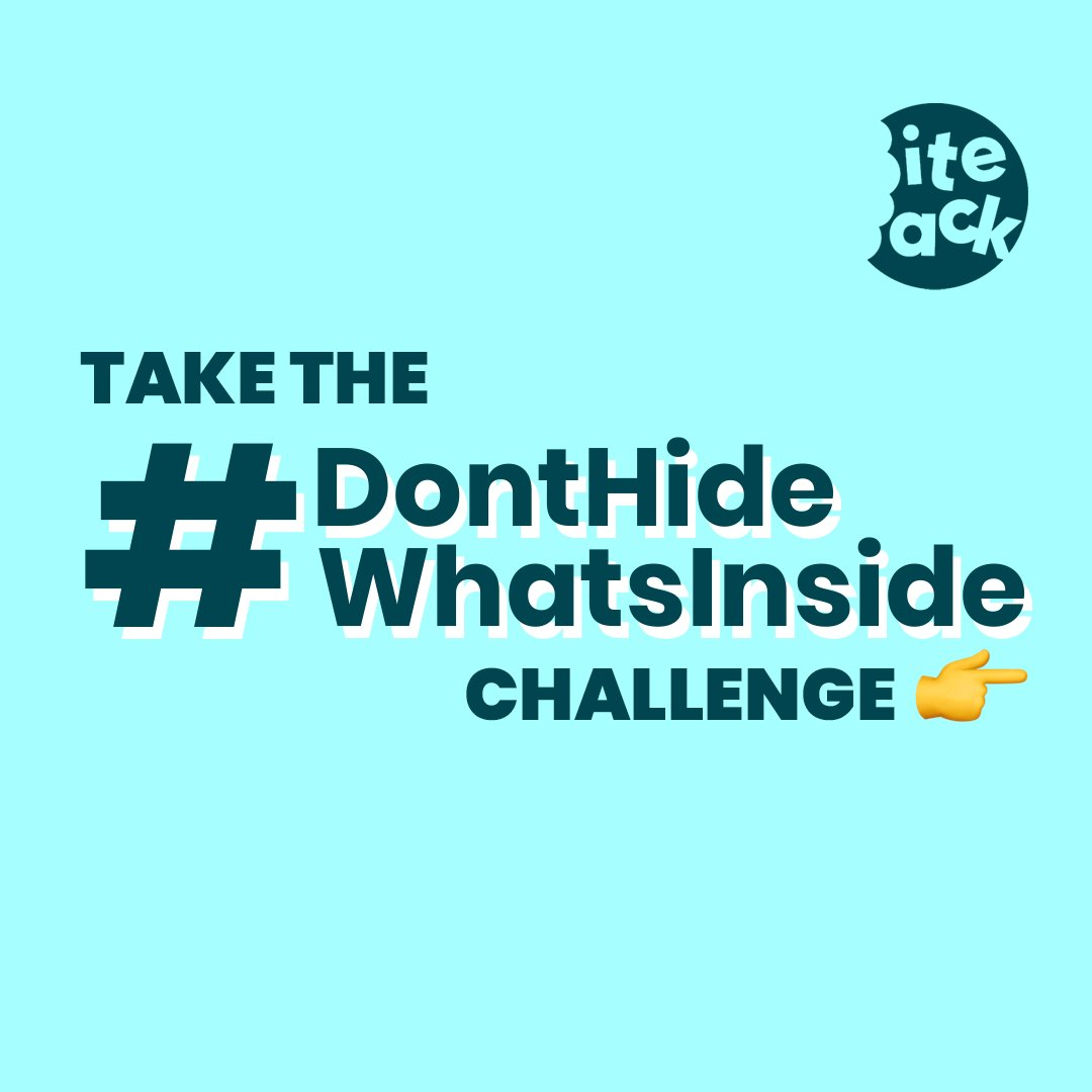 Dont hide whats inside our food! Bite Back and demand more honest labelling on our food! Head to @biteback2030 on Instagram and take the #DontHideWhatsInside challenge. #BiteBack2030 👉 instagram.com/p/B7vFonunolF