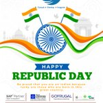 Image for the Tweet beginning: In this #Republic day, let