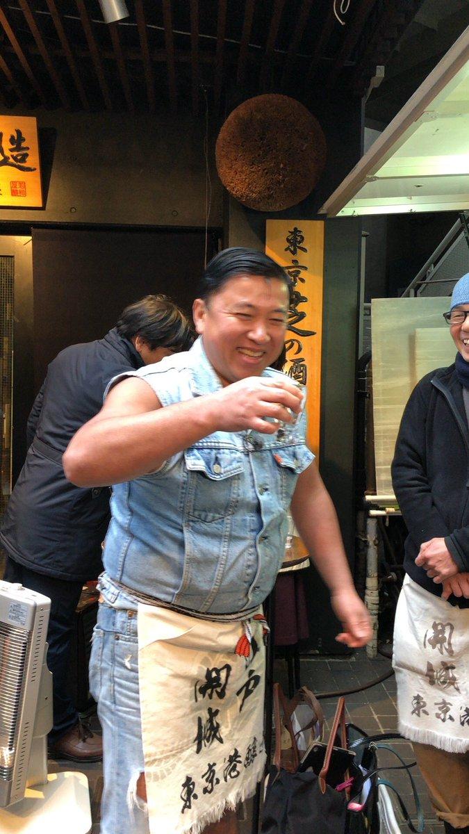 東京23区唯一の蔵元、東京港醸造さんにお邪魔してきたぜぇ お酒作りの全てを学んできたぜぇ 奥がふかいぜぇ そしてここのお酒の美味しいこと 是非一度飲みに行ってみてだぜぇ 衝撃だぜぇ この模様は2月4日放送のよじごじDaysにて 見… https://t.co/Qy6ftPld71