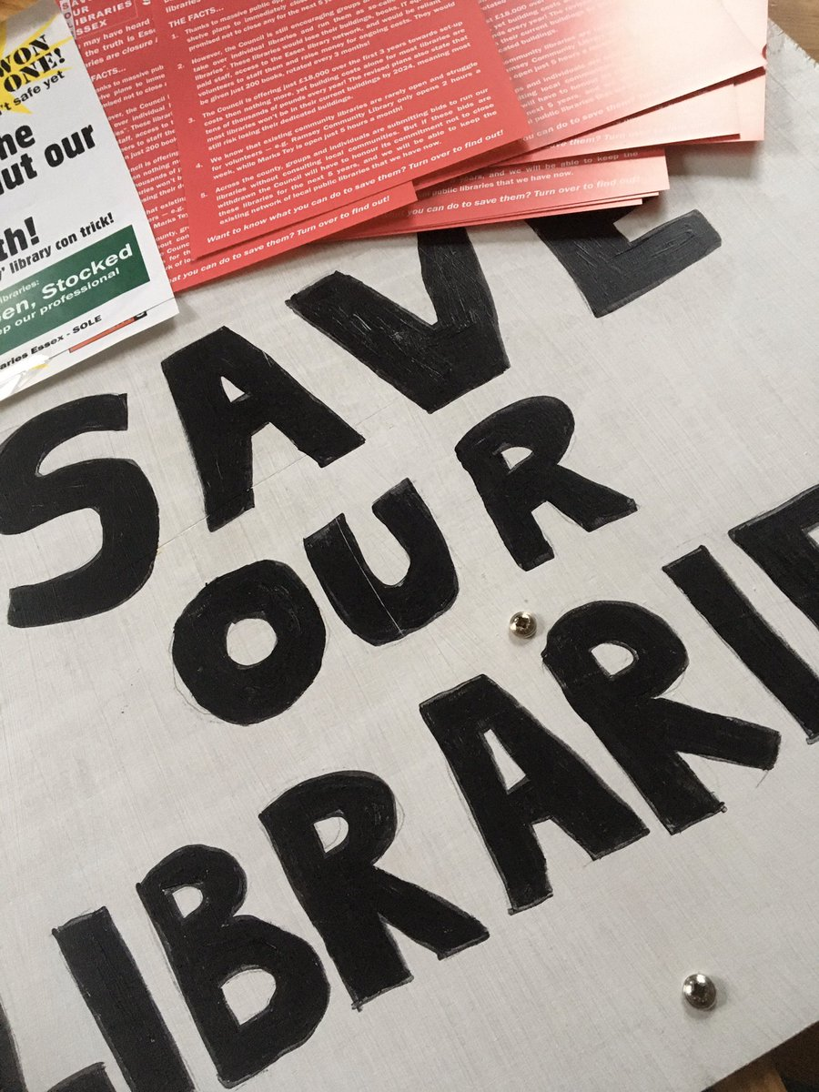 Packing for a morning to help #saveourlibraries  for the sake of literacy, education - for those who are lonely, in poverty, who don't have the internet at home, those who need advice from librarians; home schoolers; families ... <br>http://pic.twitter.com/9k2iuWkKe2