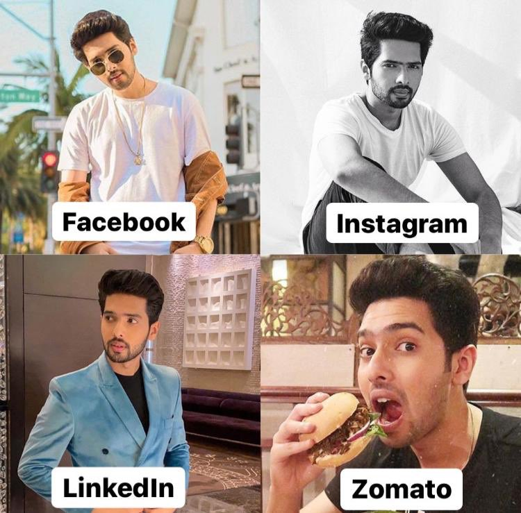 Not sure if I'm doing this right but @ZomatoIN is my tinder 😂 #DollyPartonChallenge