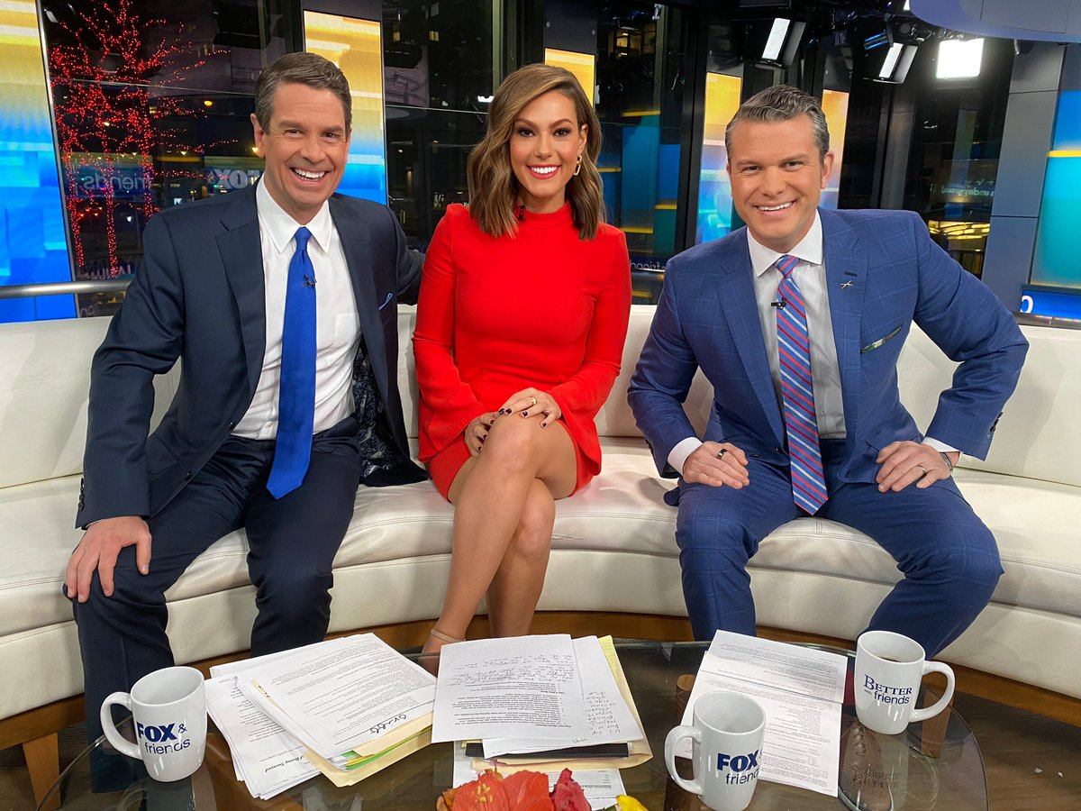 On @foxandfriends until 10 AM ET with @PeteHegseth and @GriffJenkins ! Hope you will watch!