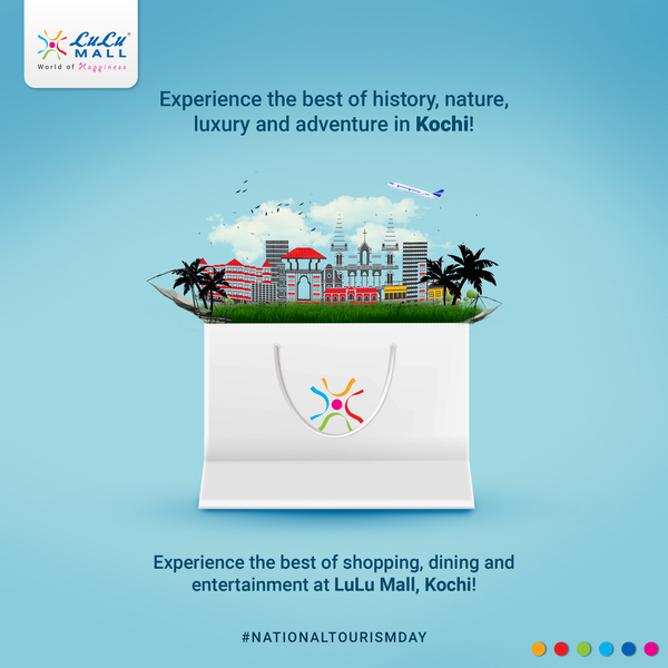 From natural beauty to cultural attractions, from beaches to hills and tea plantations and more, Kerala is truly God's Own Country! And a visit to the state is not complete without visiting the #WorldOfHappiness, #LuLuMall #Kochi!pic.twitter.com/P2nFecRNFm