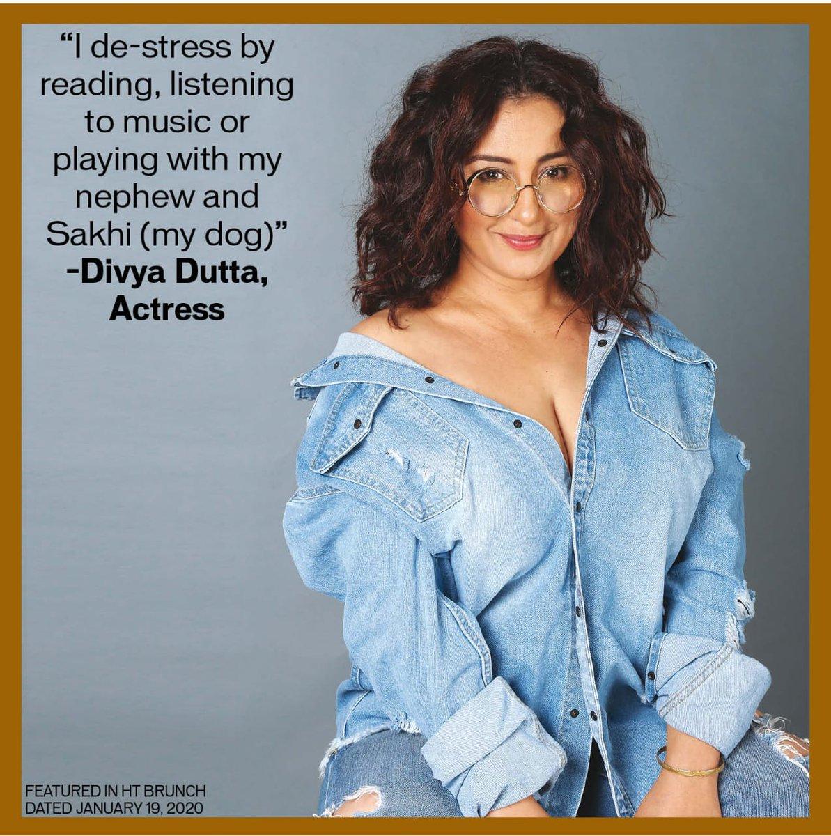 National-Award winning actress Divya Dutta reveals her de-stress mantra @divyadutta25 #personalagenda #bollywood #actors #bollywoodactresses #actresseswelove #nationalaward #nationalawardwinner #divyaduttapic.twitter.com/NAdPtbRbQB