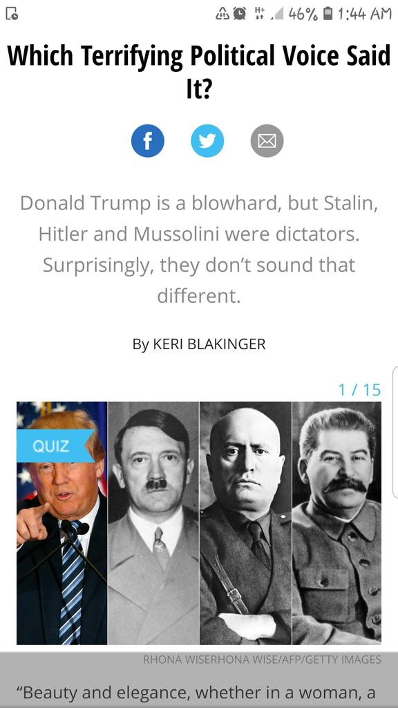 Not saying Trump is Hitler.Hitler was a schizophrenic prone to emotional outbursts,self pity followed by ruthlessness.Who managed his insecurities by worshipping brut strength & known for his moist clammy palms. No comparison of course. #WorstPresidentInHistory #ImpeachmentTrial<br>http://pic.twitter.com/dEwbOike1f