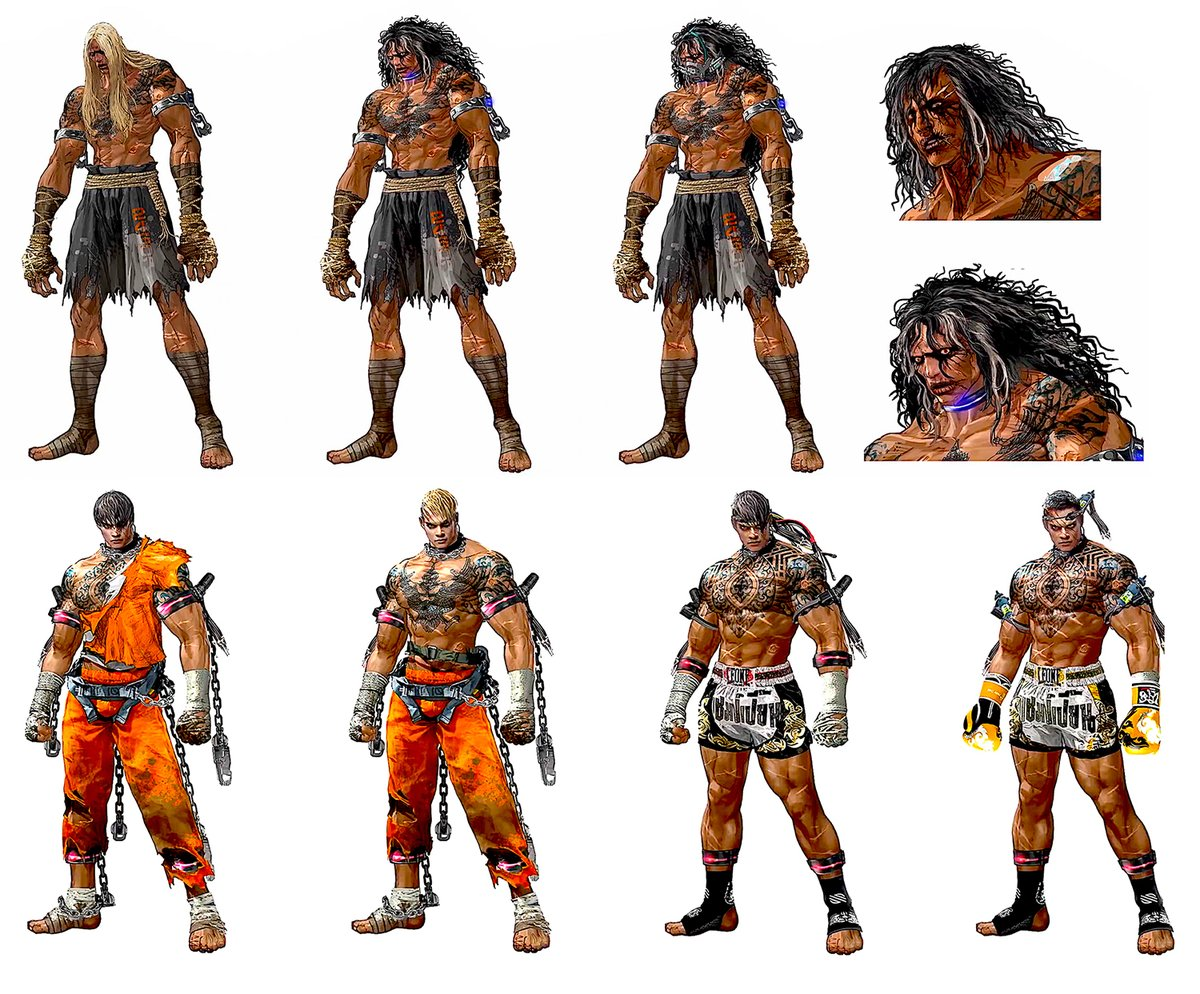 Yellowmotion On Twitter The Early Concept Designs Of Fahkumram Give Me The Vibes Of Marduk T4 Necalli And Bane Making Him Look More Like A Beast Since He S Been Forced To Participate