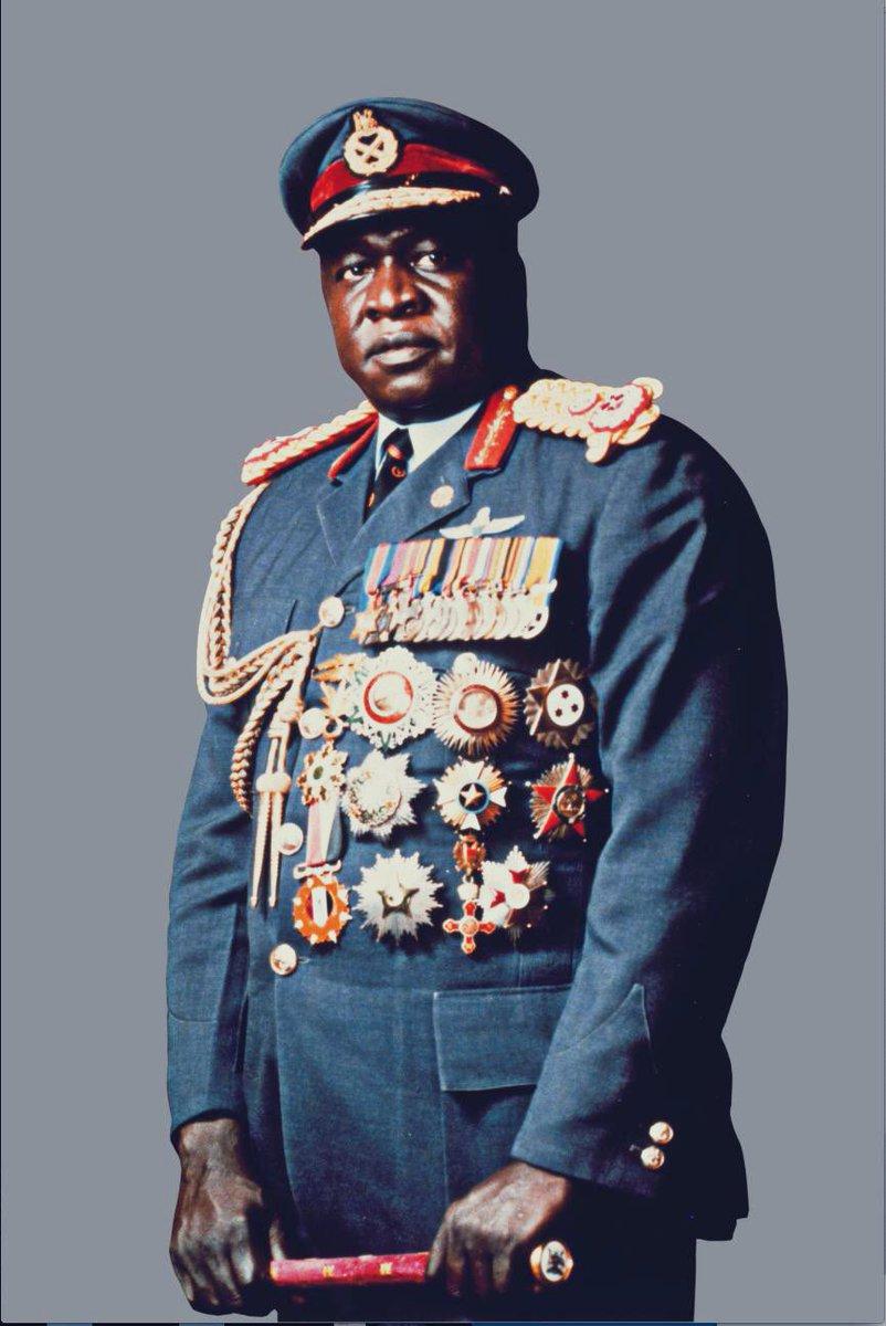 """𝓒𝓱𝓻𝓸𝓷𝓸𝓕𝓲𝓵 🏰 on Twitter: """"25 janvier 1971 : Idi Amin Dada, prend  le pouvoir en Ouganda en renversant Milton Obote. Il s'affuble de tous les  titres (docteur, maréchal à vie, roi d'Écosse)"""