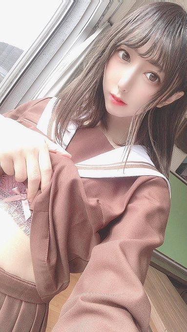 コスプレイヤー円谷みうのTwitter自撮りエロ画像26