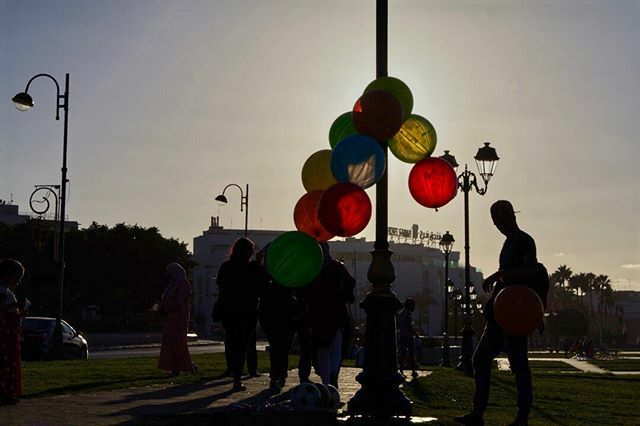 Who likes balloons?. The sun falls down on the streets of Rabat but before the light disappear, a last balloon must rise and fly into the sky. https://ift.tt/30SVxUR