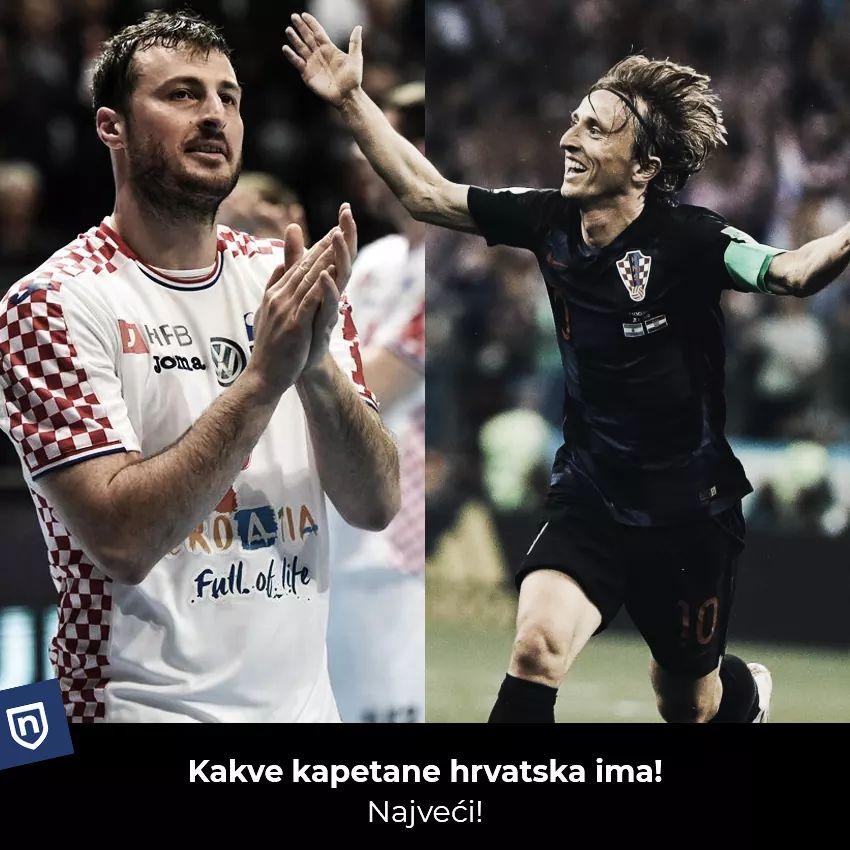 Nema dalje ❤🇭🇷❤ #ponosHrvatske #Duvnjak & #Modrić #iznadsvihHrvatska 🇭🇷🇭🇷