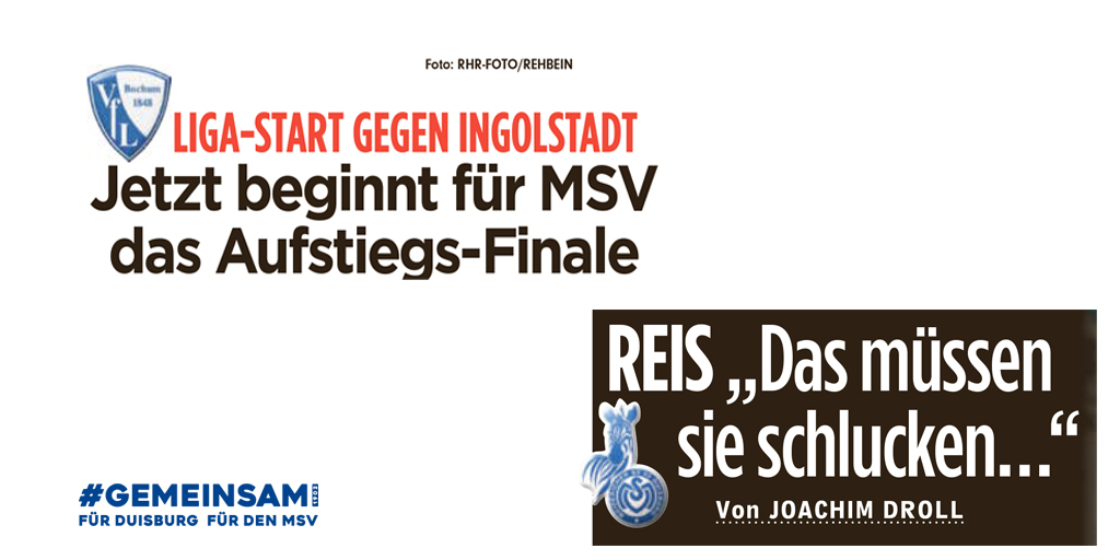 MSV Duisburg @MSVDuisburg